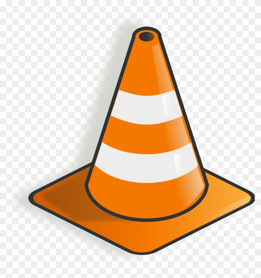 Big Image - Construction Cone Clip Art #42958