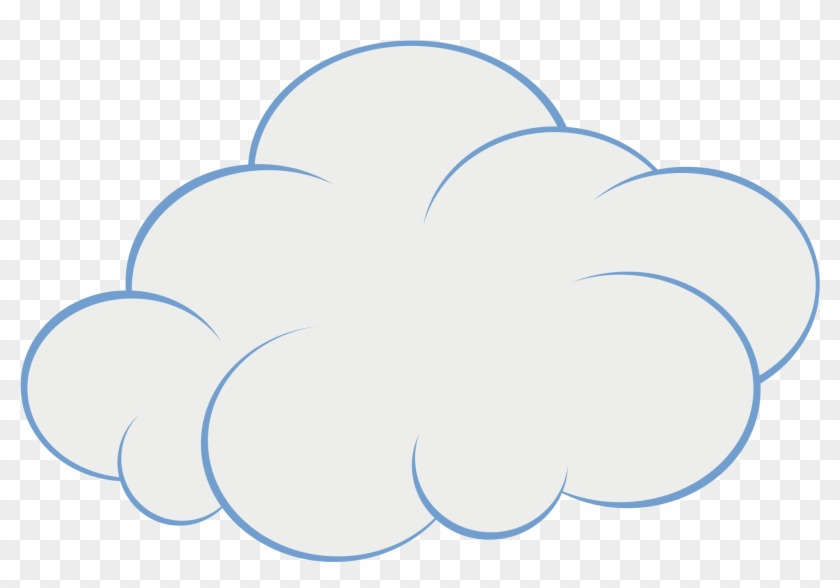 Windy Cloud Clip Art Clipart Clipart - Cloud Cartoon Free #42961