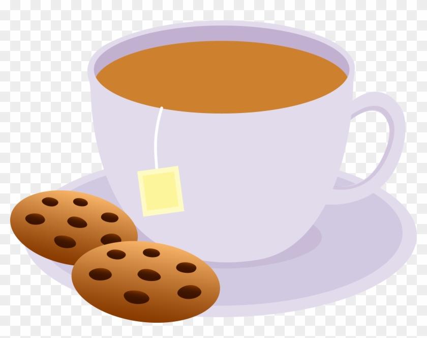 Tea And Cookies - Mug Of Tea Clipart #43038