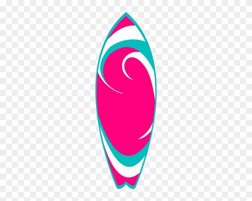 Surfboard Clipart Transparent - Surfboard Clipart #43043