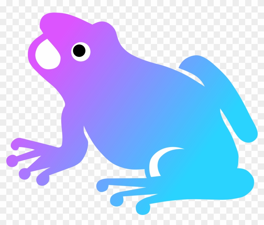 Clipart - Frog Silhouette #43166