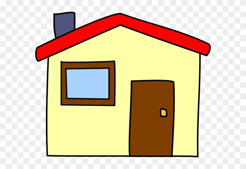 Simple Cartoon House Clip Art At Clkercom Vector Clip - Royalty Free Cartoon House #43176
