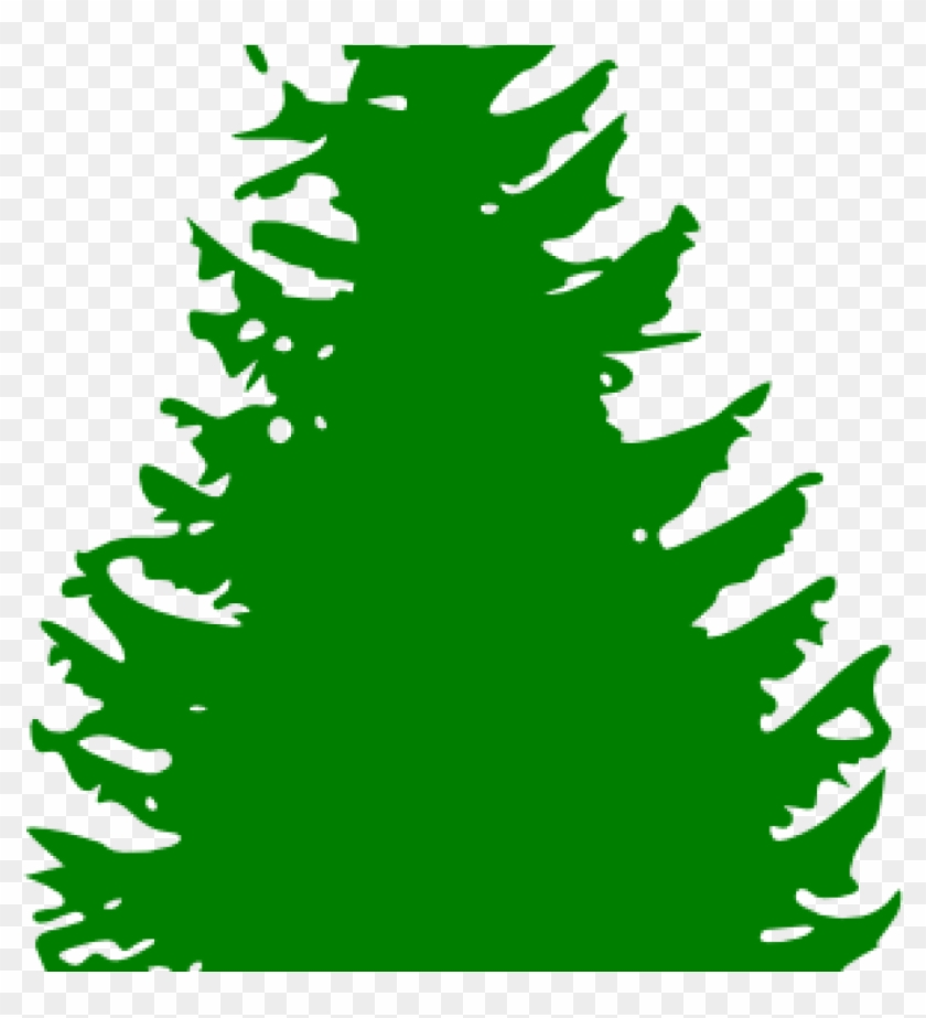 Pine Tree Clip Art Pine Tree Green Clip Art At Clker - Pine Tree Silhouette Vector #43215