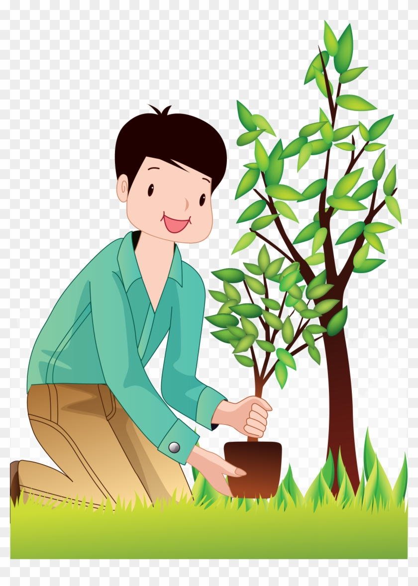 Planting Trees Man Planting Trees Png Free Transparent Png Clipart Images Download