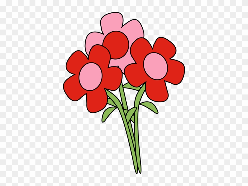 Valentine's Day Flowers Clip Art - Valentine's Day Clip Art Flowers #43257