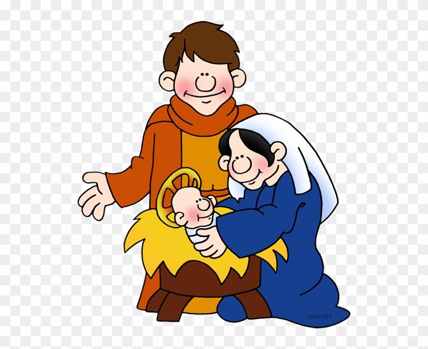 Holy Family - Phillip Martin Clipart Nativity #43261