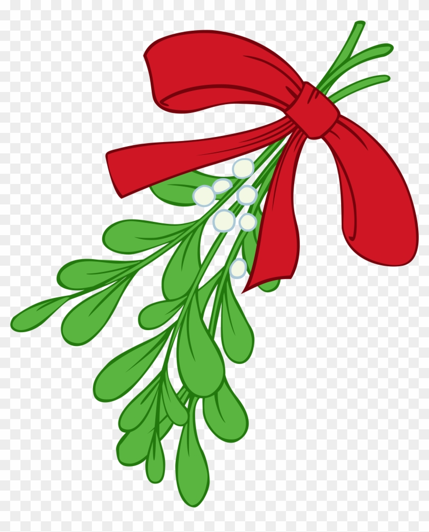How To Draw A Mistletoe - Mistletoe Clipart #43297