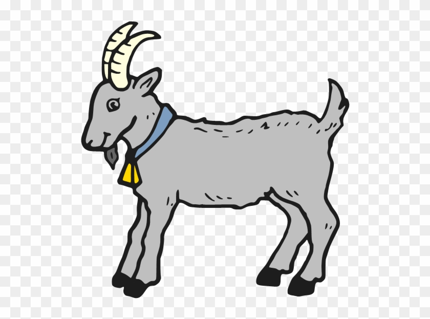 Goat Clipart Black And...