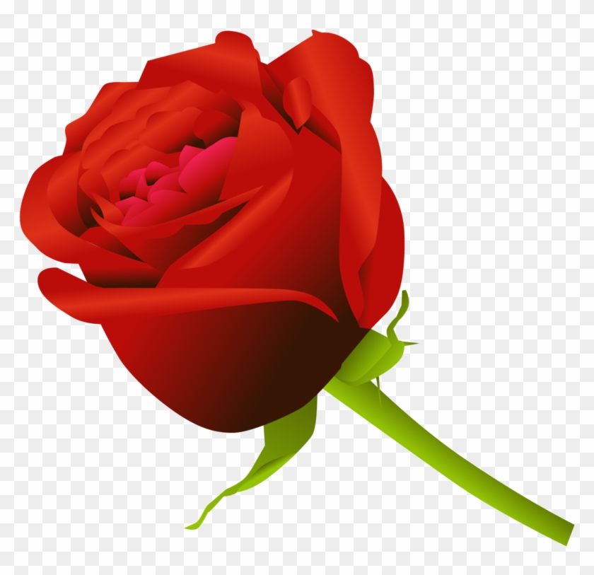 Simple Rose By Dekomaru On Deviantart - Simple Rose #43339