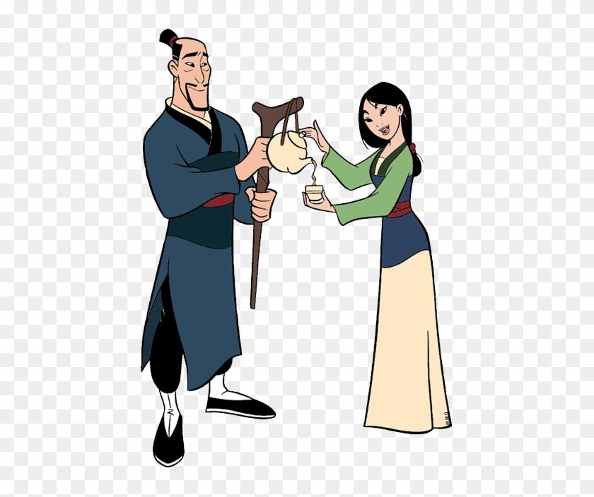 Back To Mulan Clip Art Menu - Mulan's Family Clip Art #43463