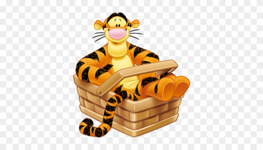 Winnie The Pooh Tiger Cartoon Clip Art Images On A - Tigger Winnie The Pooh Png #43490