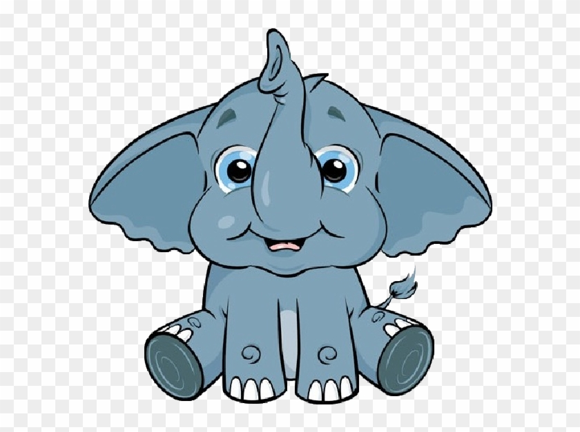 Elephant Images - Cute Baby Elephants Clipart #43602