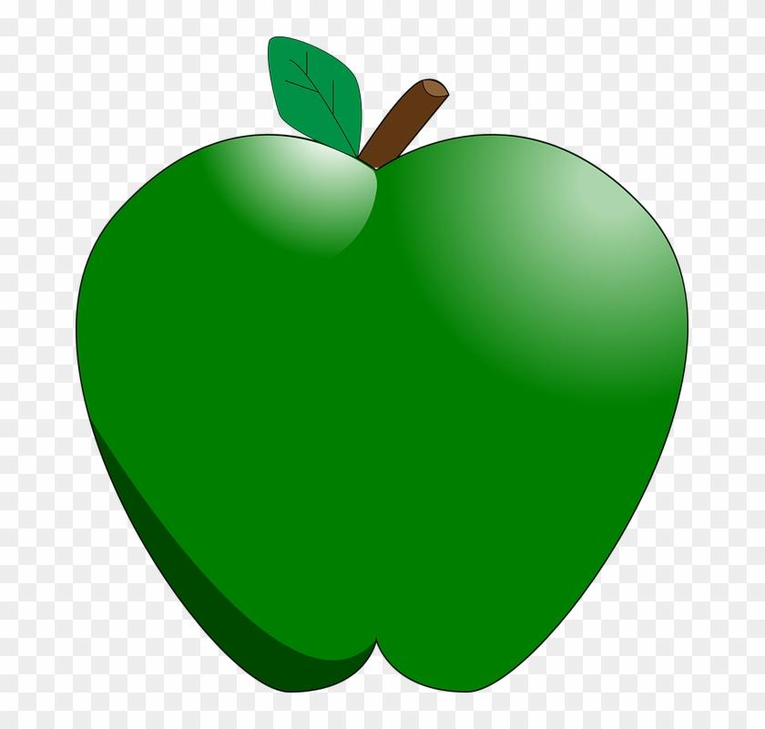 Green Apple - Cartoon Green Apples #43664