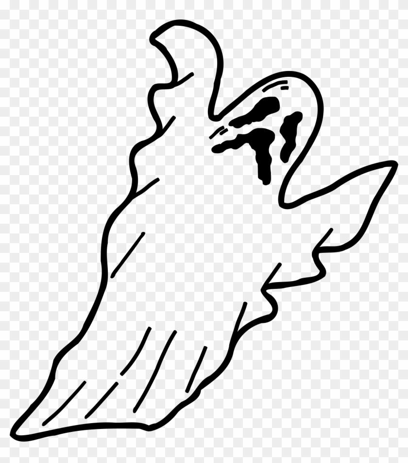 Scary Clip Art - Spooky Ghost Halloween #43738