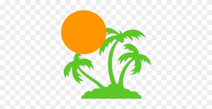 About Us - Palm Tree Decal #43882