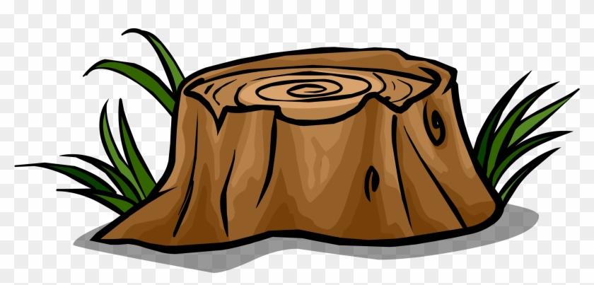 Tree Stump Sprite 001 - Golden Goose Fairy Tale #44092