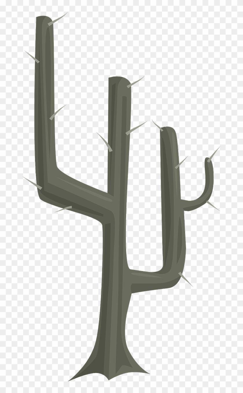 Trunk Cactus Clipart - Cactus #44218