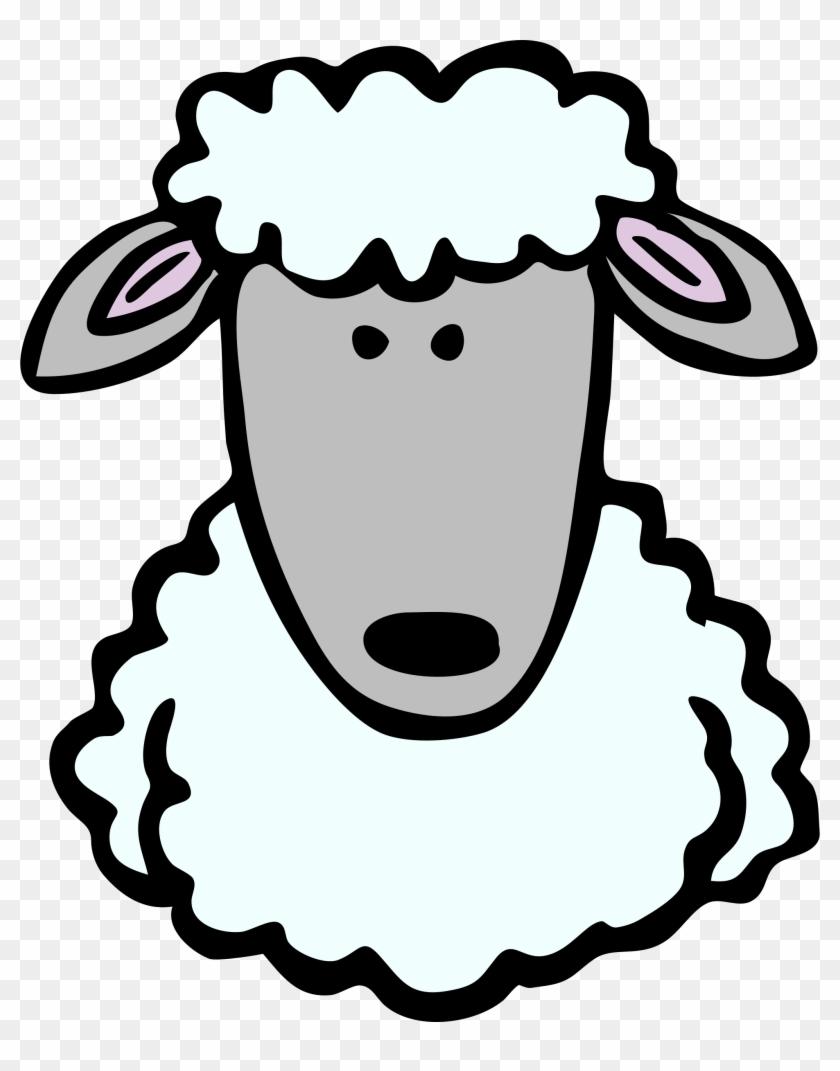 Medium Image - Draw A Sheep Head #44335