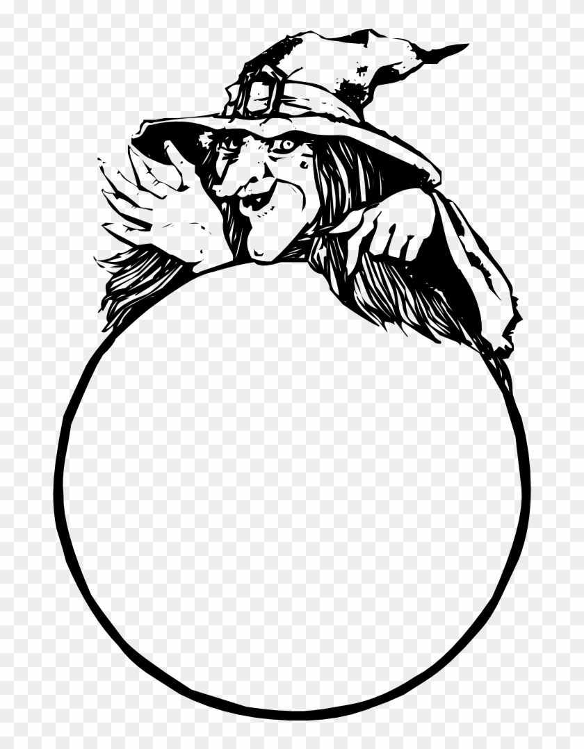 Onlinelabels Clip Art - Witch Crystal Ball Clipart #241164