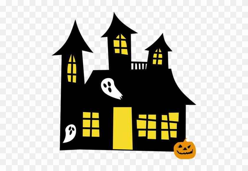 Haunted House Drawing Public Domain Vectors - Clip Art Haunted House #241194