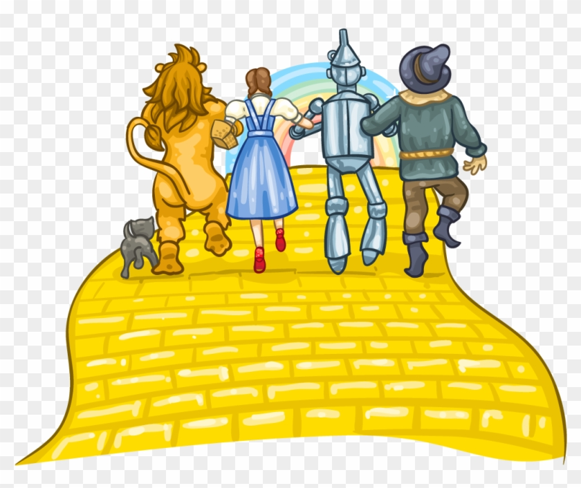 Easy Yellow Brick Road Clipart Wallpapers Clip Art - Yellow Brick Road Clipart #241237