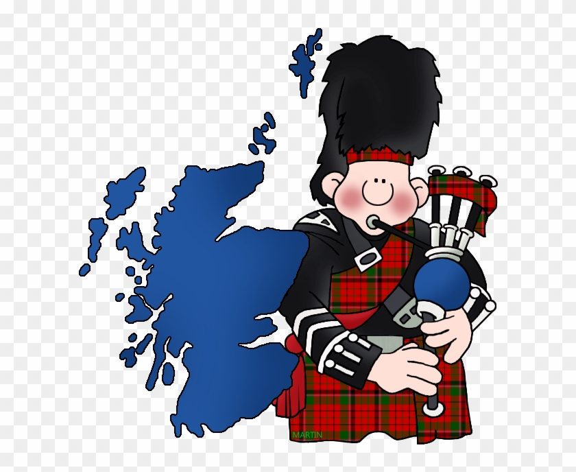 Map Of Scotland With Bagpipes - Unemployment Rate Uk By Region 2016 #241406