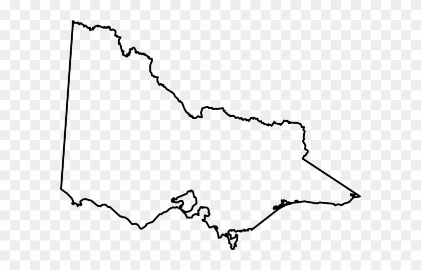 Free Vector Australian Maps Clip Art - Blank Map Of Victoria ...