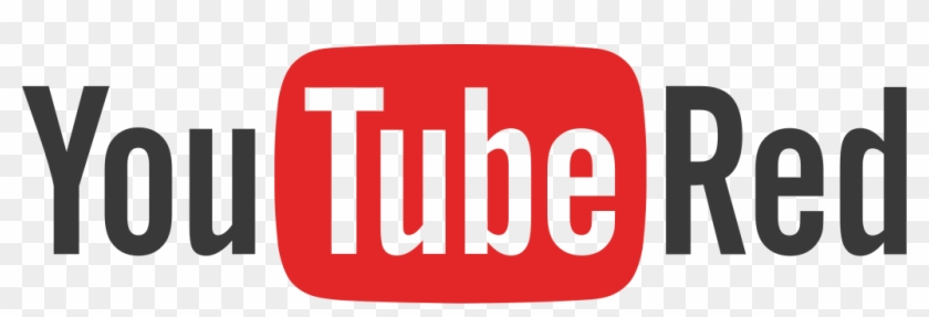 Youtube Clipart Red - Youtube Red Logo Png #241541