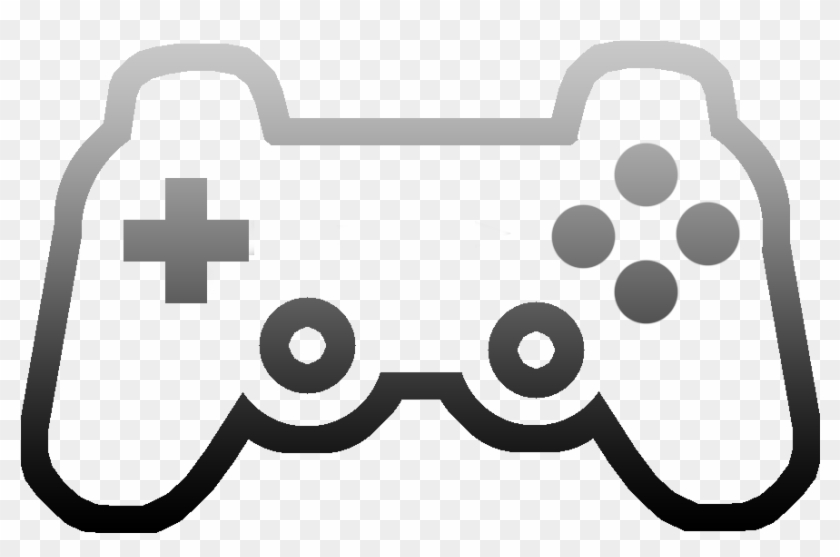 Ps3 Controller Clip Art - Easy Game Controller Drawing #241755