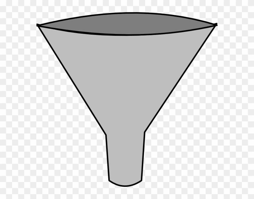 Simple Funnel Clip Art At Clker - Funnel Clipart #241943