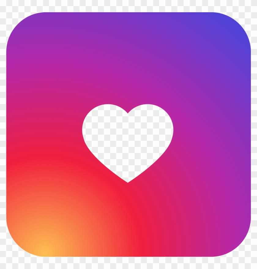 Instagram Heart Png Clipart Image 01 - Logo Instagram Love Png #242061