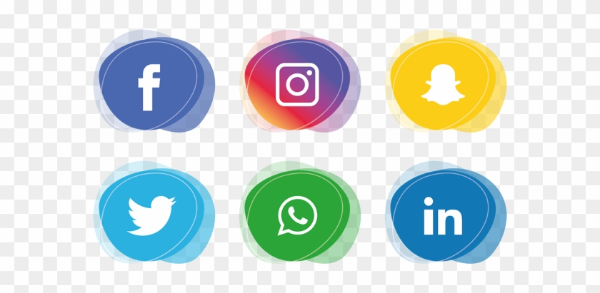 Social Media Icons Set - Social Media Icons Png #242067