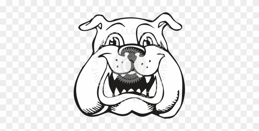 Bulldog Puppy - Bulldog Coloring Pages #242068