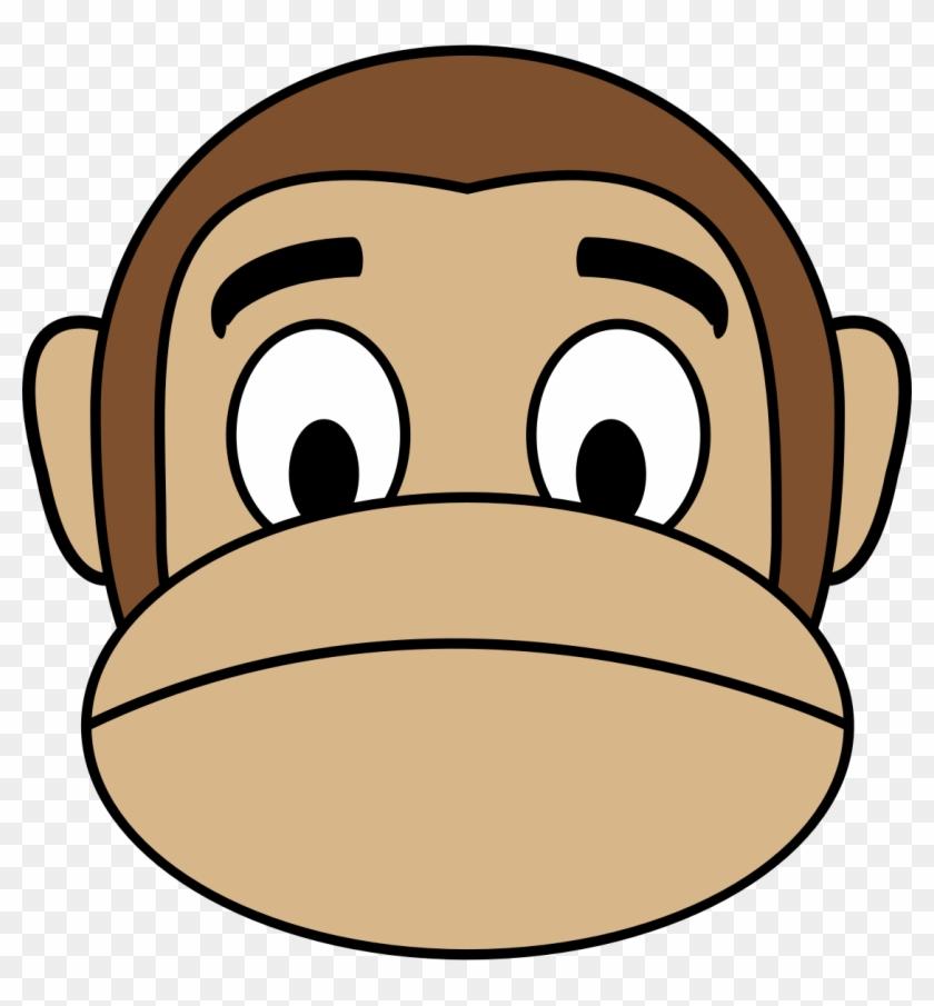 Sleeping Monkey Cliparts - Happy Monkey Emoji Pillow Case #242135