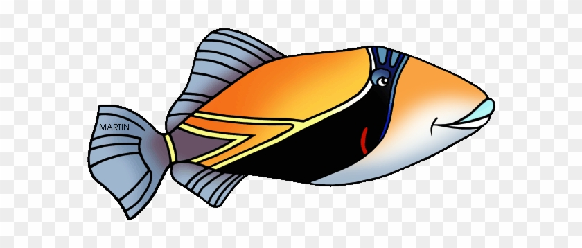 State Fish Of Hawaii - Hawaii State Fish Coloring Page #242181