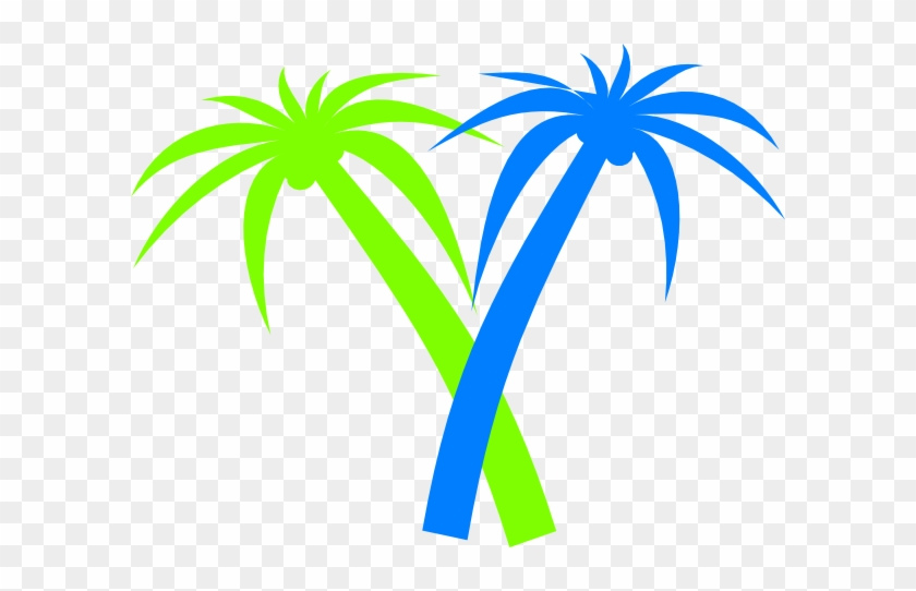Palm Tree Clip Art Transparent Background Neon Palm Tree Clip Art