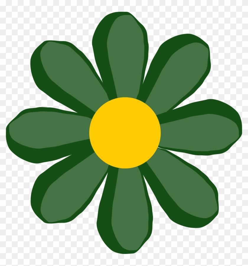 картинка цветочек зеленый солнечно, вашего
