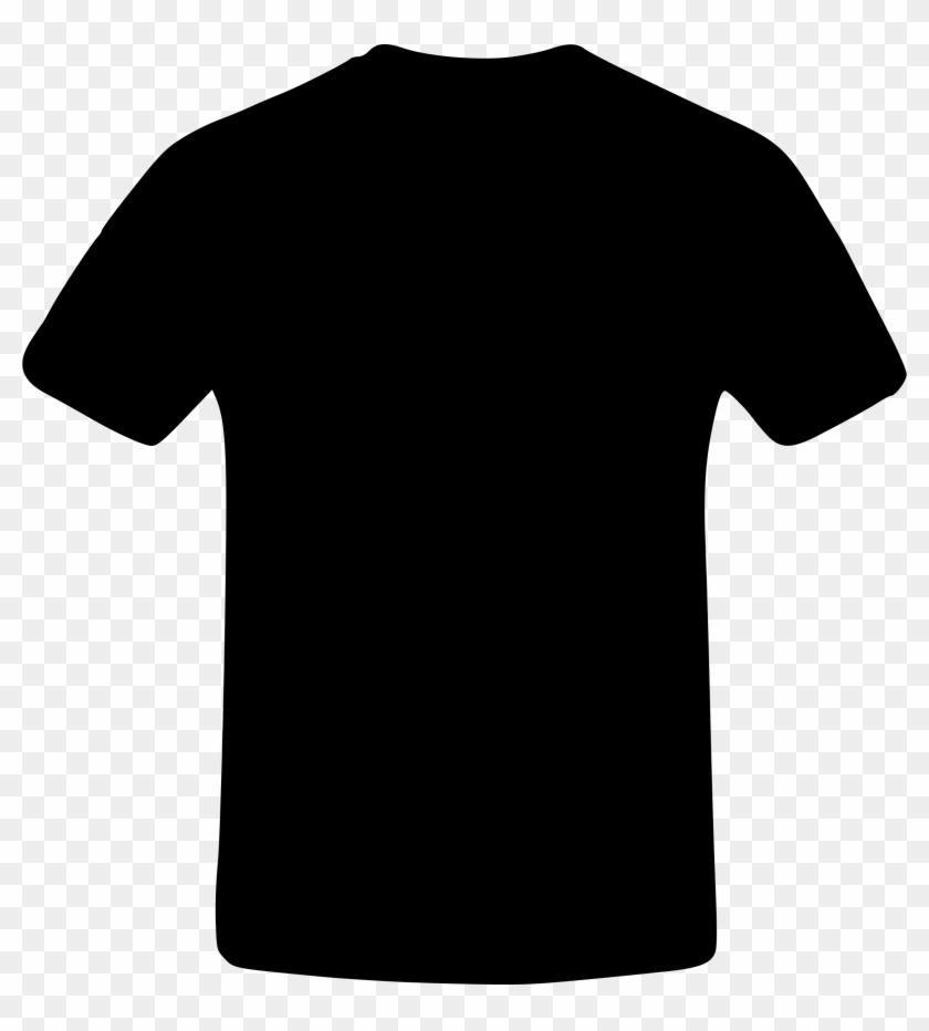 T Shirt Clipart Black Shirt - North Face Voltage S/s Crew M #242248