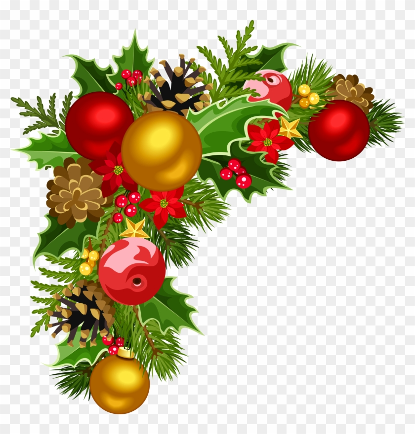 Decor Clipart - Xmas Decorations In Png #242321