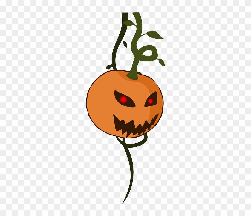 Indiana Jones Clip Art - Halloween Pumpkin & Vine Png #242679