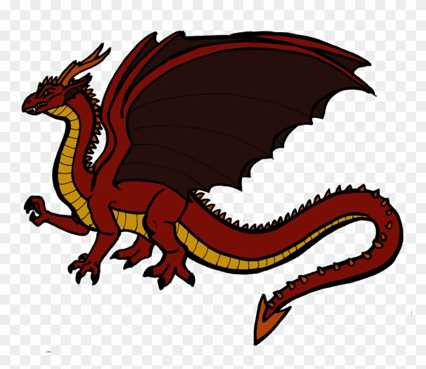 Dragon Clipart Drake - Size Difference Between Drakes And Dragons #242810
