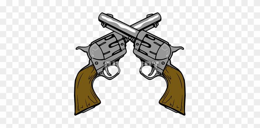 Coolest Pistol Clipart Current Cowboy Clipart Clipart - Wild West Gun Clipart #243206
