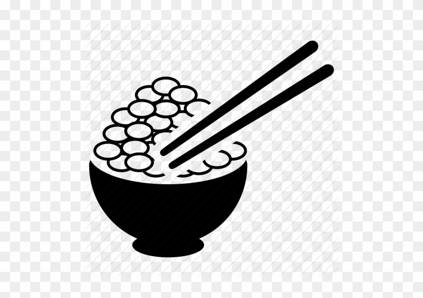 Chinese Food Clipart Rice Bowl Food Chinese Icon Free