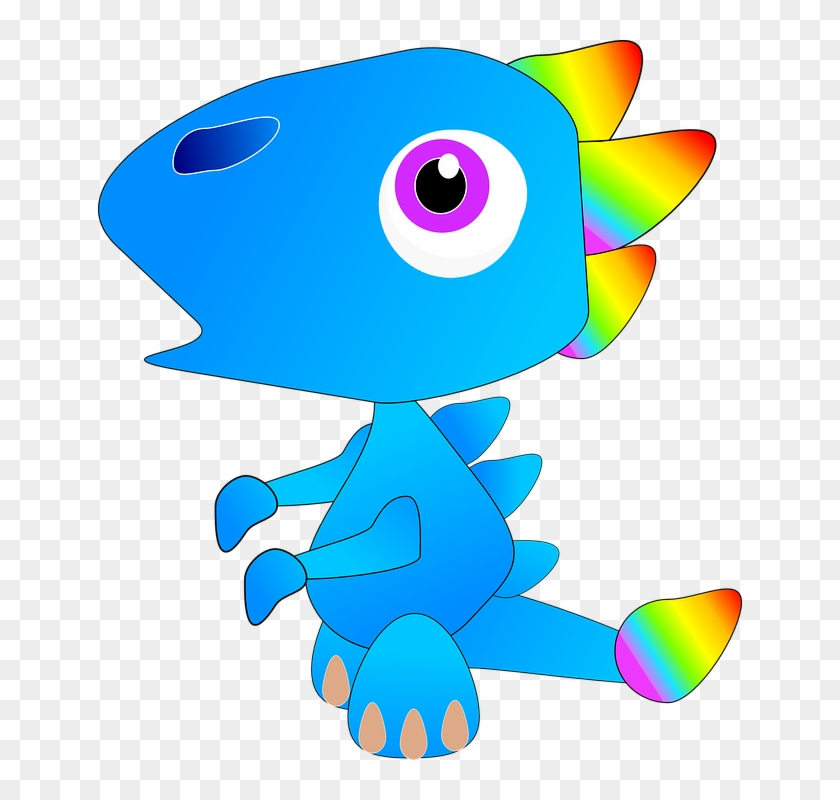 Free Vector Graphic - Custom Cute Baby Dragon Shower Curtain #243455