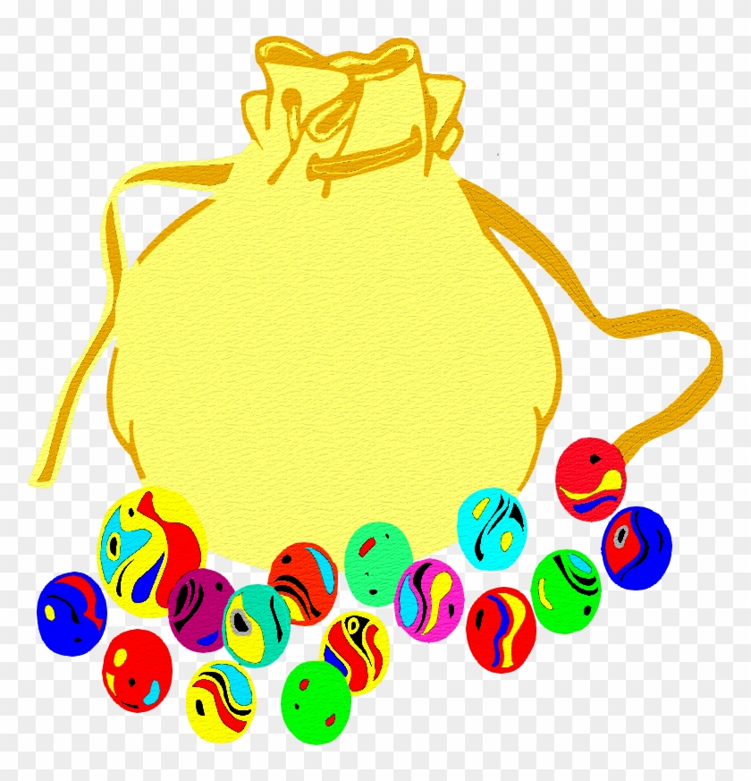 For Download, Clic On Image For Enlarge And Next, Right - Sac De Billes Clipart #243462