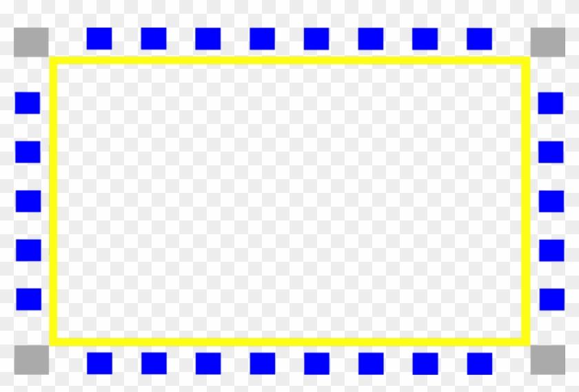 Blue Frame Png - Circle #243504