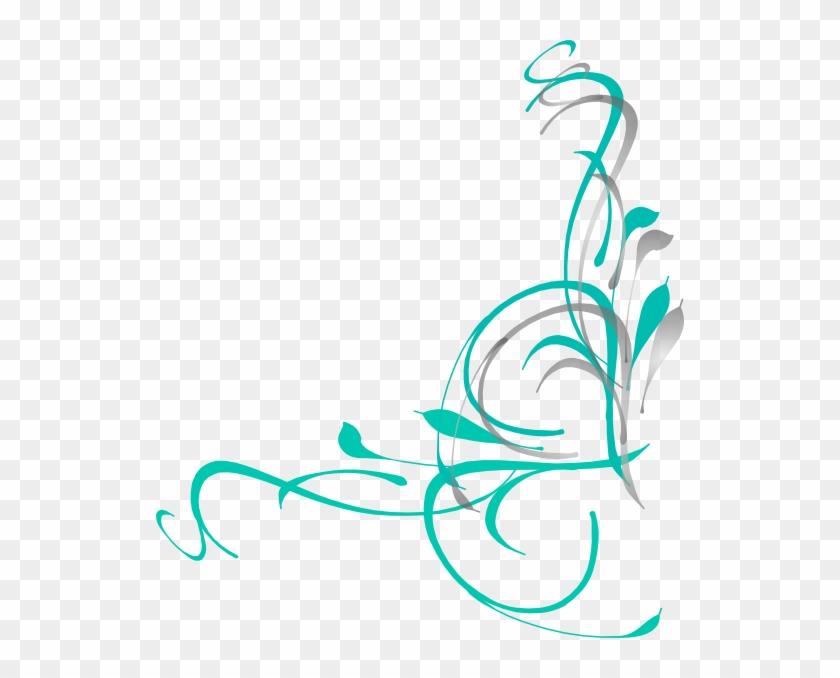 Free Zebra Border - Fancy Elegant Swirl Clipart #243535