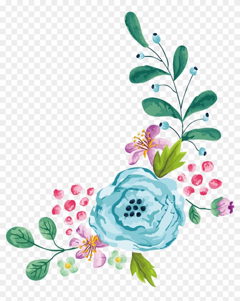 Flower Stock Photography Euclidean Vector Clip Art - Transparent Flower Border Vector #243813