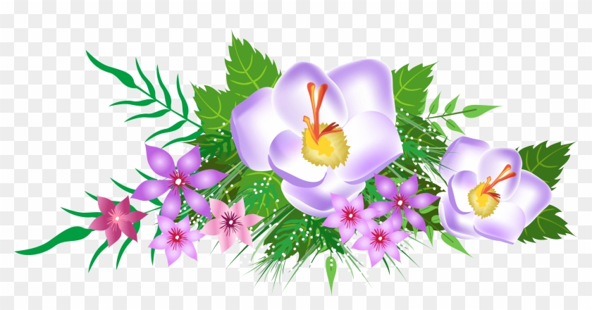 How to Find a Decorative Flower Clip Art?