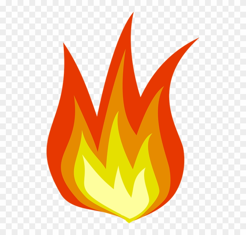 Free Vector Flame Clip Art - Fire Clipart Transparent Background #243890